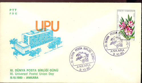 1980 1th Universal Postal Union Day