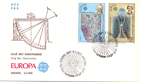 1983 Europe cept FDC