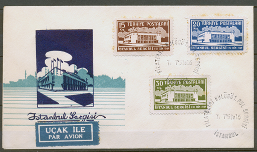 1951 İstanbul stamp exhibition