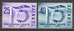 1957 The 10th year of turkish-american collaboration
