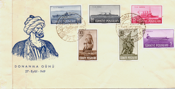 1949 The fleet day FDC