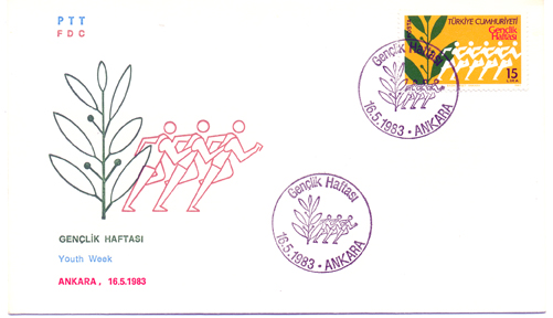 1983 Youth year FDC